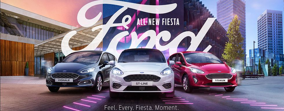 ALL-NEW FIESTA FORD