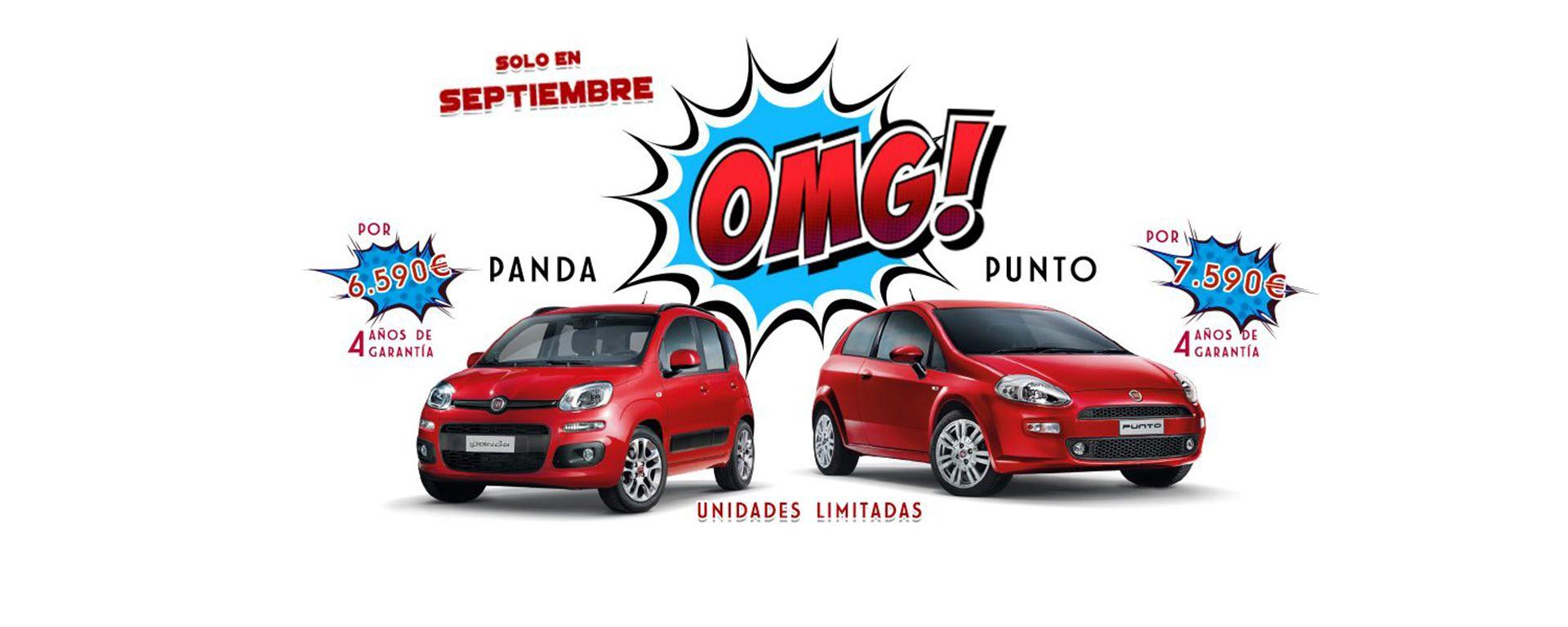 PUNTO Y PANDA.