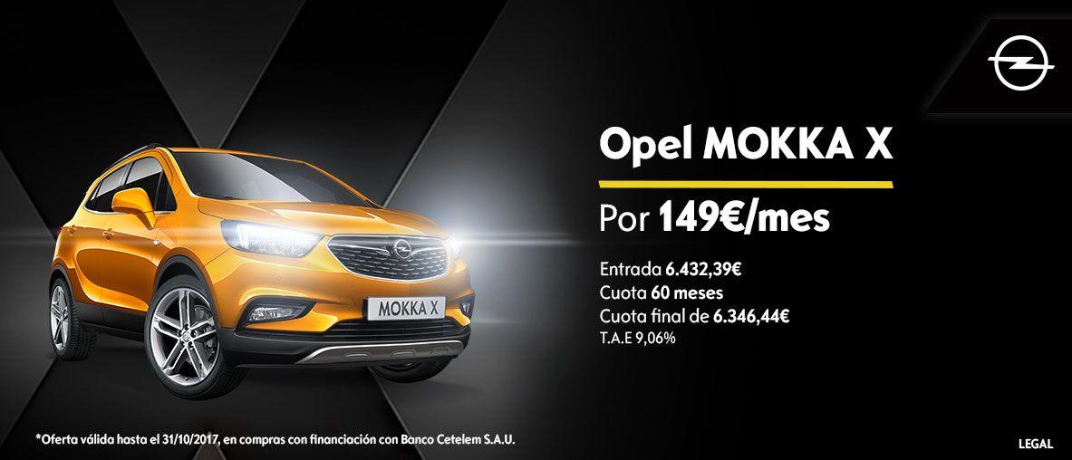 Nuevo Mokka X con Onstar y wifi 4G .