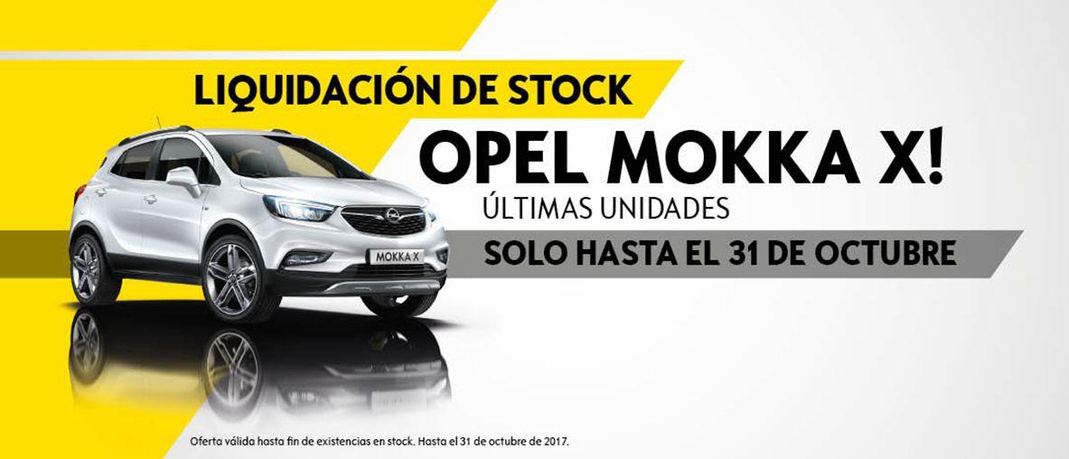 Liquidación de stock Opel Mokka X últimas unidades