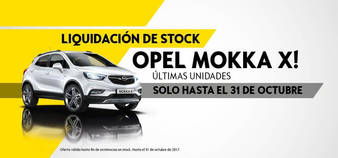 Liquidación de stock Opel Mokka X últimas unidades Madrid