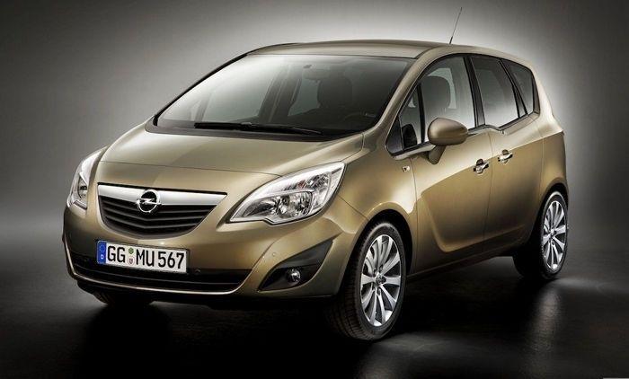 Opel Meriva: inminente lavado de cara