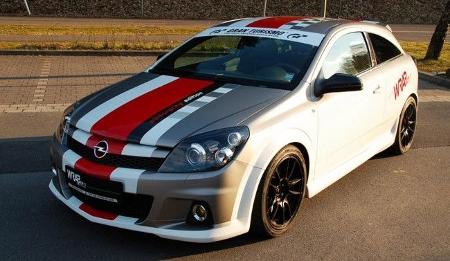 Opel Astra H OPC Nurburgring Edition con Wrap Works