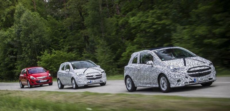 El nuevo Opel Corsa en movimiento