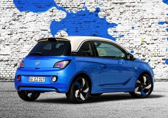 Nuevas combinaciones de color para el Opel Adam