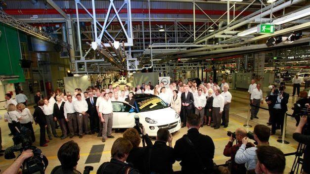 Opel produce tres millones de coches en Eisenach (Alemania)