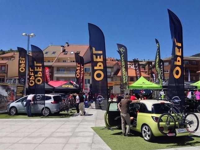 Opel, con su sistema FlexFix, vehículo oficial del 'Test the Best' de bici de montaña