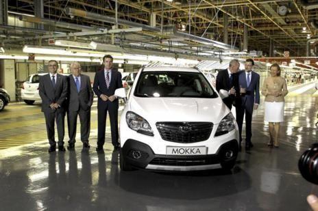 La planta de Opel vuelve a marcar el ritmo en Aragón