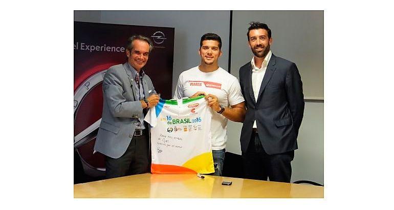 El piragüista Cristian Toro es la nueva apuesta de Opel a través del crowdfunding deportivo