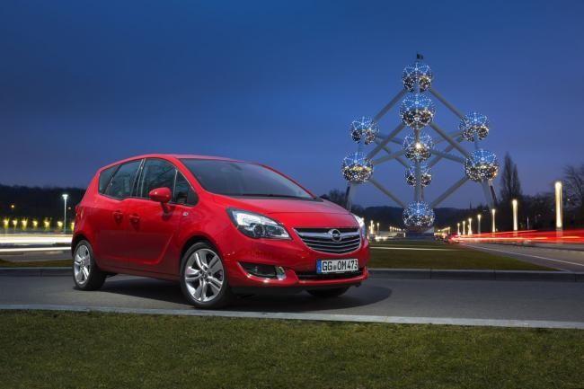 Opel Meriva 2014 en el Salón de Bruselas