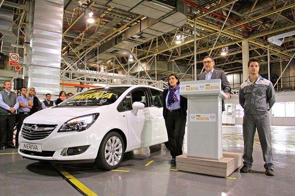 Empieza la producción del nuevo Opel Meriva