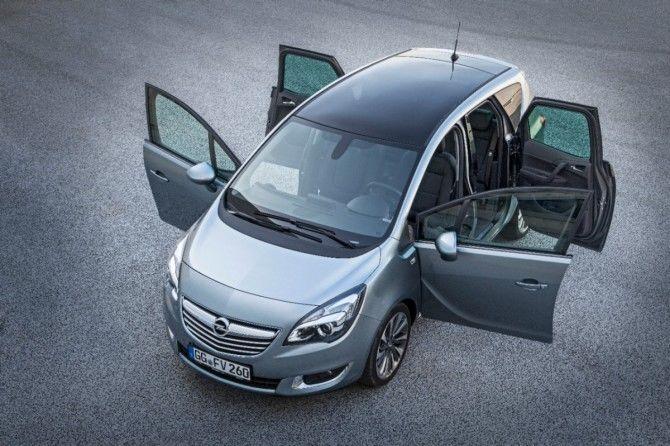 Mi primer viaje fue en un Opel Meriva