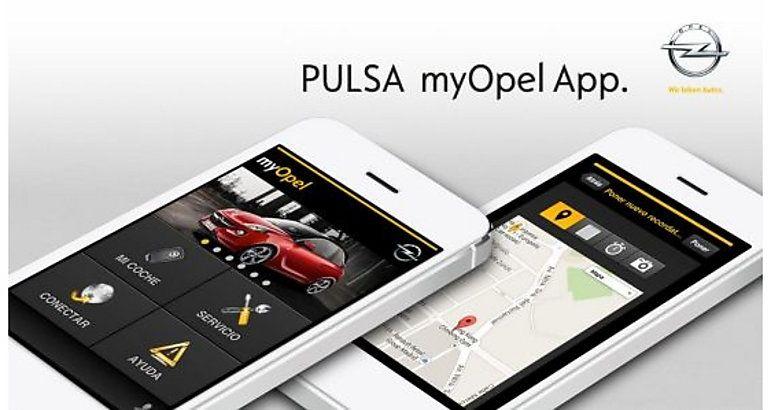 Opel lanza la aplicación myOpel App