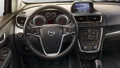 El interior del Opel Mokka