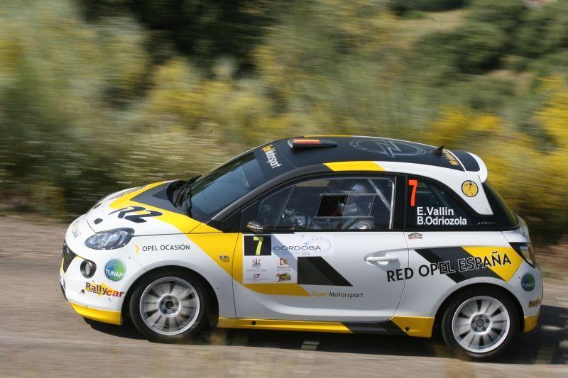 El equipo Red Opel España en el Campeonato de España de Rallyes de Asfalto 2014