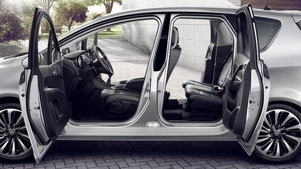 Opel Meriva: ergonomía familiar