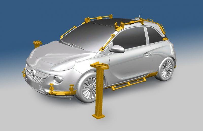 Impresoras 3D para fabricar vehículos Opel