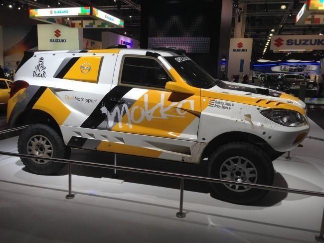 ¡Nuevo Mokka listo para el Dakar!