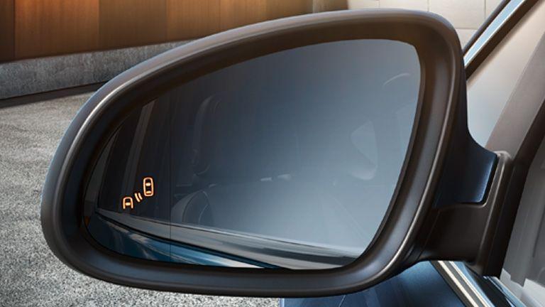 Reconocimiento al sistema de ángulo muerto de Opel