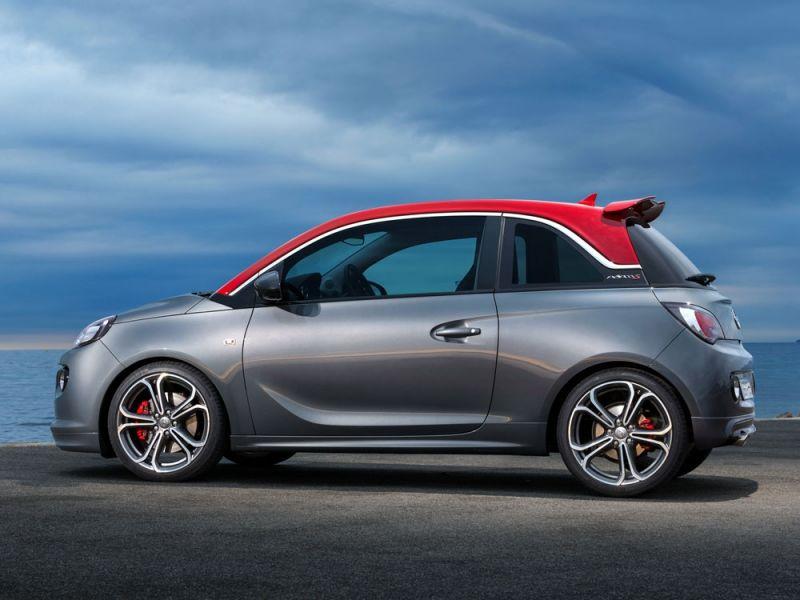 Opel Adam S, en marcha