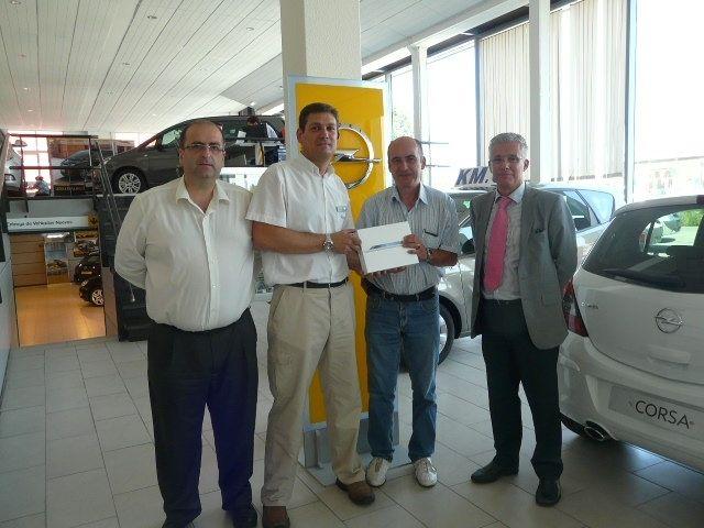 Opel Germotor Premia la Fidelidad de sus Clientes