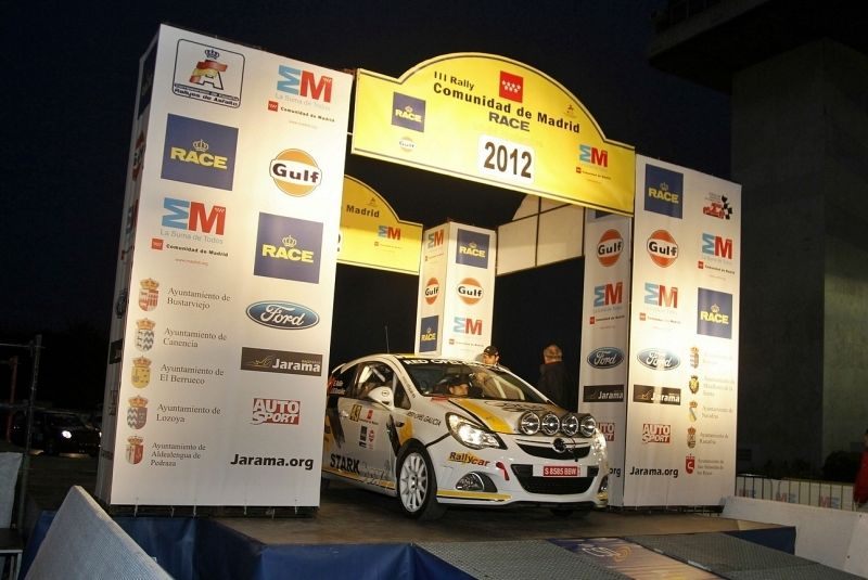 Rally RACE Comunidad de Madrid..!Nueva Victoria del Corsa OPC!