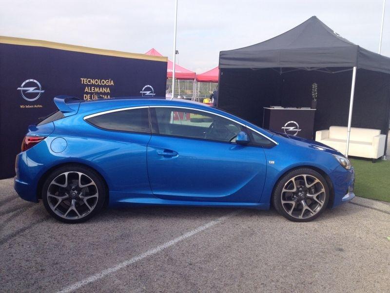 El Nuevo Astra GTC OPC...!!protagonista en el Rally de Madrid!!