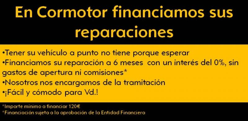 Financiación de reparaciones