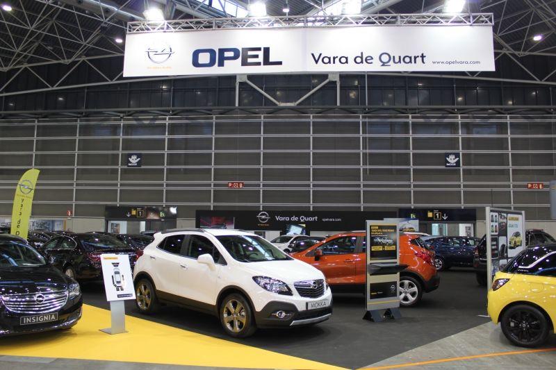 VARA DE QUART EN LA FERIA DEL AUTOMÓVIL 2014