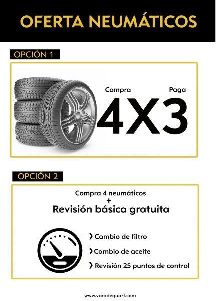 OFERTA CAMBIO DE NEUMÁTICOS