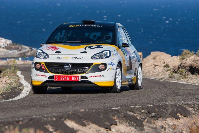 Opel Motorsport Team Spain aspira a lo máximo en el 39º Rallye Islas Canarias
