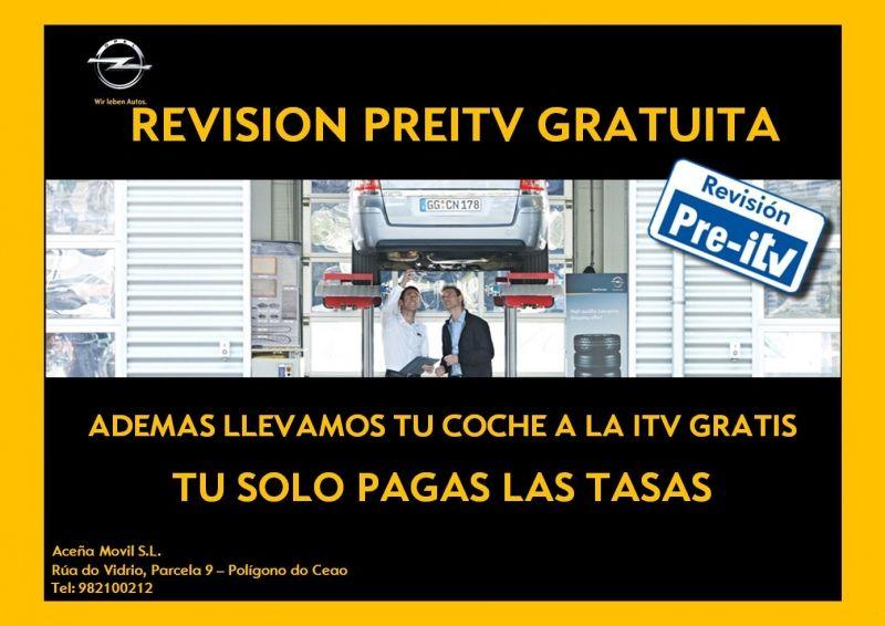 REVISIÓN PREITV GRATUITA