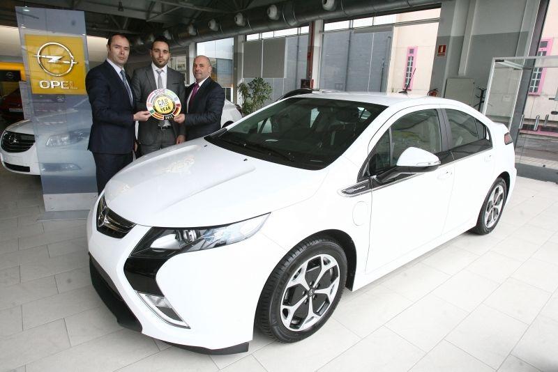 El nuevo Opel Ampera ya está en Santiago de Compostela