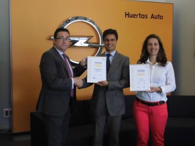 Huertas Auto logra la máxima certificación de calidad en el área de postventa