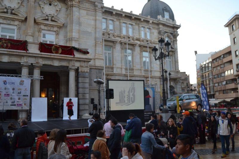 Huertas Auto participa en el Roscón de Reyes Gigante de Cartagena