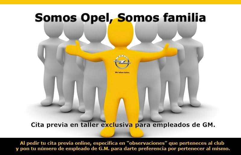 Somos Opel, somos familia