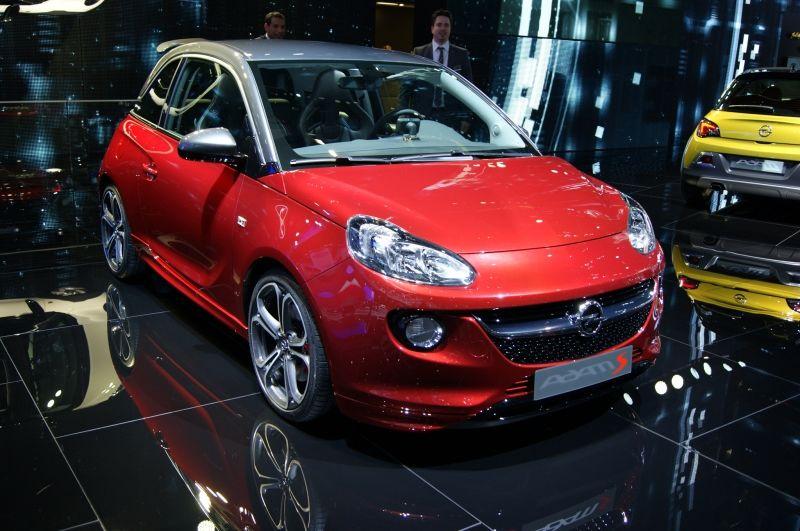 El Opel Adam S llegará a Opel Automóviles Nieto en noviembre.