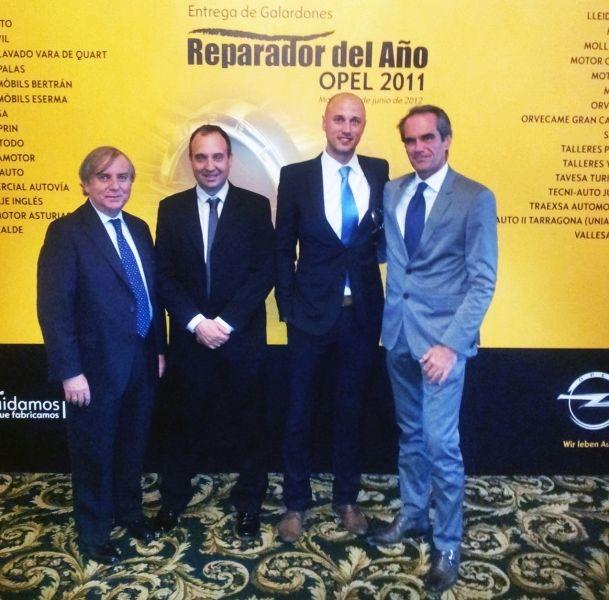 Argauto S.A. Nuevamente Reparador Opel del año 2011