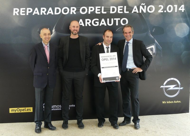 ARGAUTO SA, CONCESIONARIO REPARADOR OPEL DEL AÑO 2014