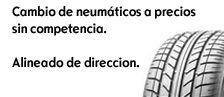 Cambio de neumáticos a precio sin competencia
