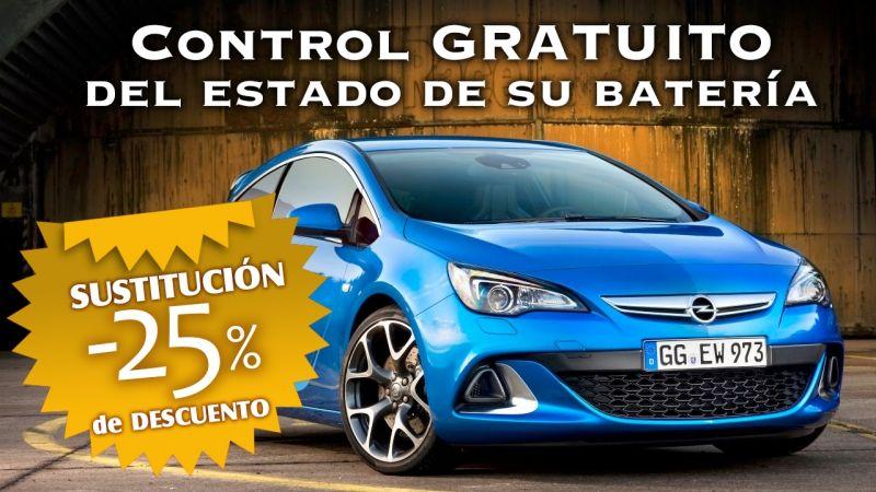 CONTROL GRATUITO DE ESTADO DE SU BATERIA Y 25% DESCUENTO EN SU NUEVA BATERIA