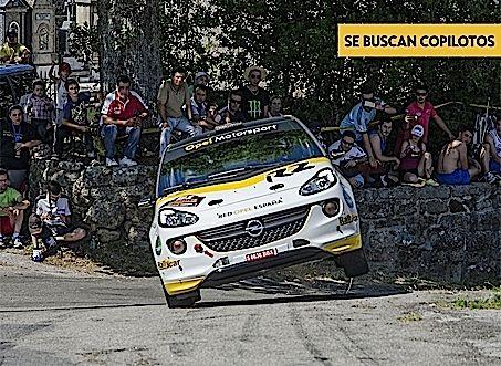 Presentacion opel adam r2 Esteban Vallin equipo opel motorsport