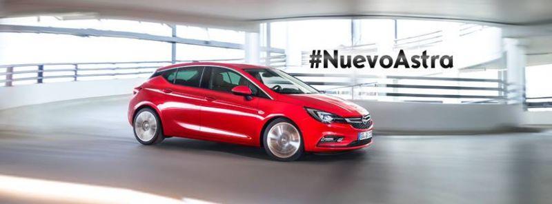 Nuevo Opel ASTRA y ONSTAR