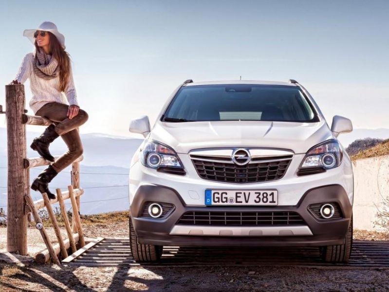Opel Mokka, el «crossover urbano» más de moda