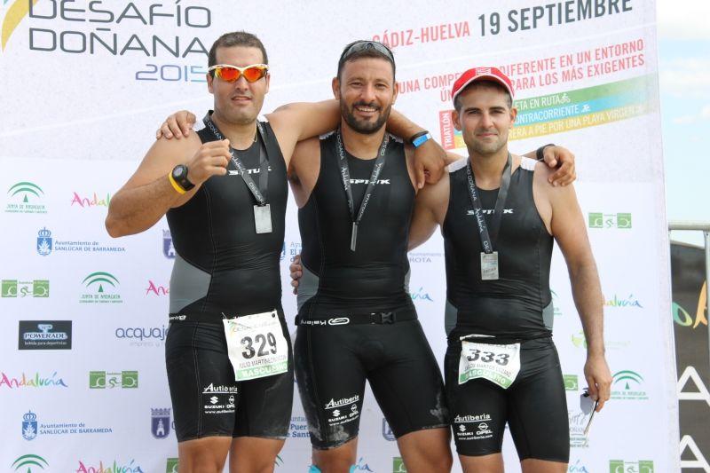 Opel Autiberia en el Desafío Doñana 2015 de la mano de José Luis, Julio y Carlos