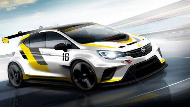 Nuevo Opel Astra TCR