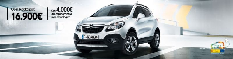 Opel Mokka turbo 140 CV (16.900€ con 4.000€ de equipamiento tecnológico)