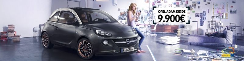 Opel ADAM Jam 1.2 70 CV desde 9.900€.