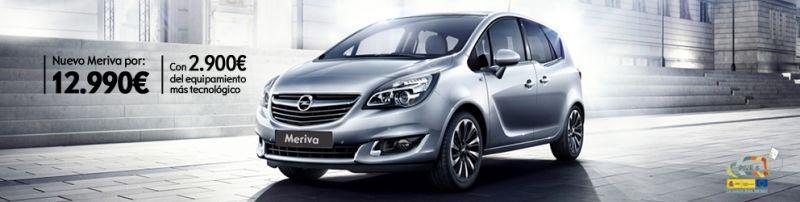 Nuevo Opel Meriva 100 CV (por 12.990€, con 2.900€ de equipamiento más tecnológico)