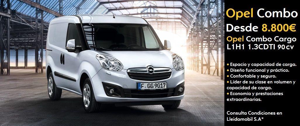 Nueva Opel Combo desde 8.800 €*